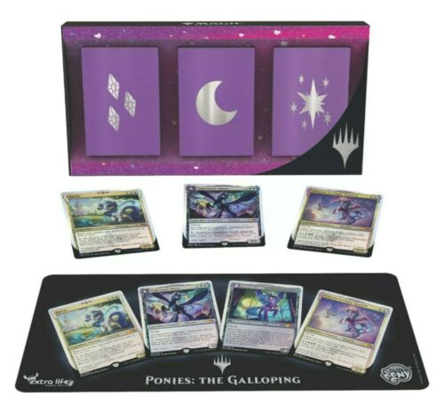 The Galloping Trading Card Set Magic The Gathering MTG My Little Pony Ponies