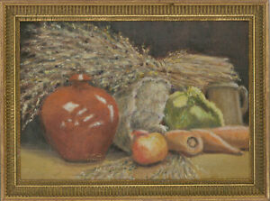 Nora-Parker-Framed-20th-Century-Oil-Still-Life