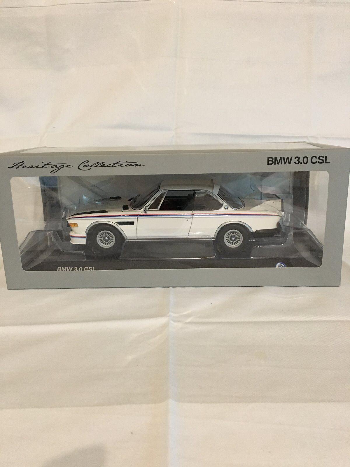 Modellauto Heritage Collection von MINICHAMPS BMW 3.0 CSL im Maßstab 1:18