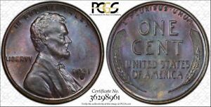1931-S-1C-PCGS-MS64BN-Beautifully-toned-Lincoln-RicksCafeAmerican-com