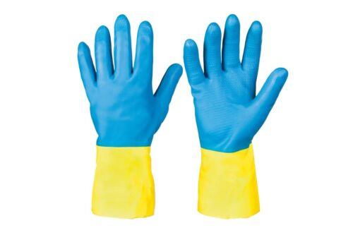 Industrie des gants en caoutchouc v STRONGHAND alimentaire adapté produits chimiques aux UV