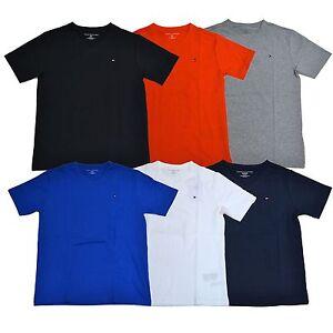 tommy hilfiger big boys t shirt v neck short sleeve kids. Black Bedroom Furniture Sets. Home Design Ideas