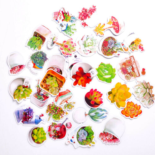 45Pcs Cute Kawaii Bear PVC Sticker Album Scrapbooking DIY Book Diary Stickers