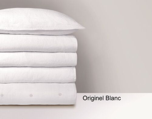 FRANCE YVES DELORME ORIGINEL PURE LINEN FITTED SHEET