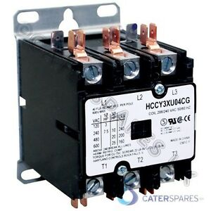 HENNY-PENNY-HCW-230v-CONTACTOR-TRIPLE-POLE-CHICKEN-DISPLAY-WARMER-HCW5