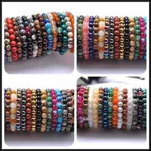Wholesale-10MM-Natural-Gemstone-Round-Beads-Stretchy-Bracelets-Assorted-Stones