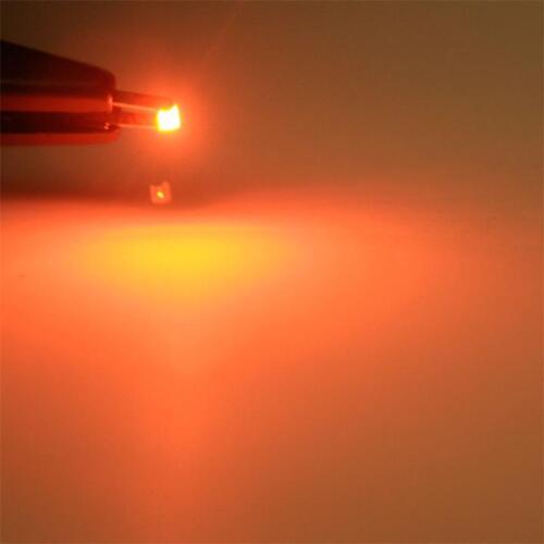 20 smd LED 1206 orange Mini smds smt LED orange Arancione oransje Orange