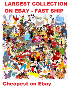 Disney-and-Other-Cartoon-machine-embroidery-Designs-CD-plus-BONUS-fast-ship