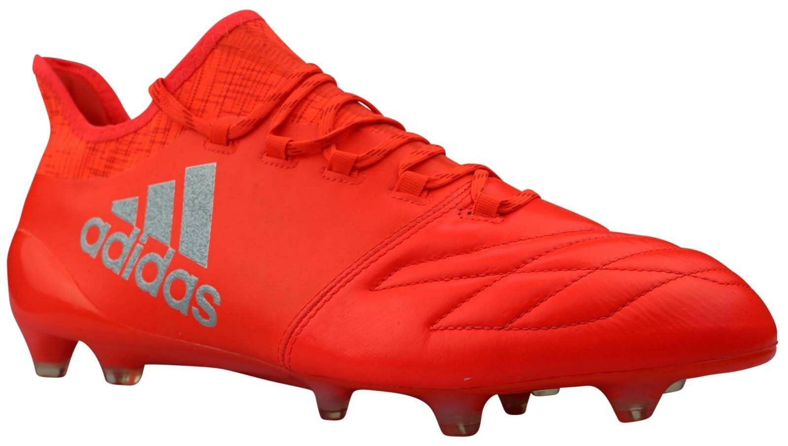 Adidas x 16.1 FG Football chaussures cuir Cam rouge S81966 Taille 46 2 3 nouveau OVP
