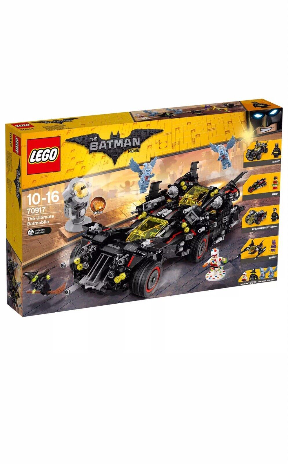 LEGO 70917 Batman Movie The Ultimate Batmobile BNIB