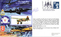 RAFA 19 WWII Battle of Britain Night Blitz RAF cover signed Sqn Ldr LUSTY