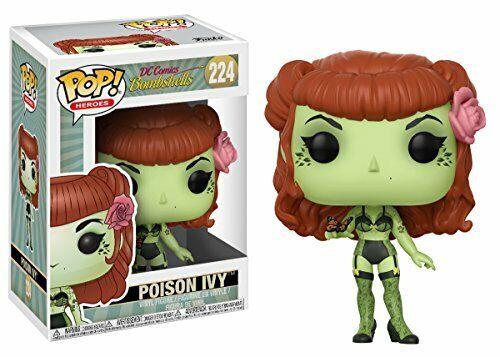 Funko 22887 Pop Vinile DC ARDENTE Poison Ivy multicolor
