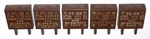 5-quartz-DC35-US-de-reception-pour-BC-669-SCR-543-testes-100-OK-rare