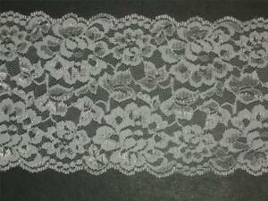 "5 Yd White Cotton Embroidered Scalloped Lace Trim Curtain Pillow 4 1//2/""  Wide"