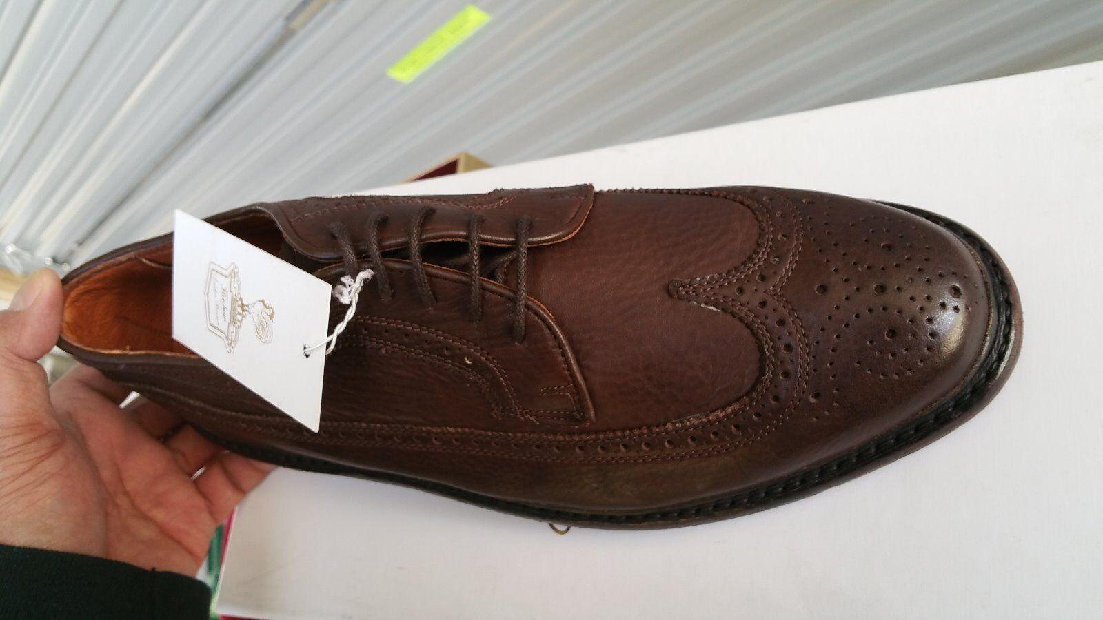 Para hombres zapatos de lujo Florsheim Duckie Duckie Duckie Marrón Marrón roto Brogue US 9.5 D b8d0f5