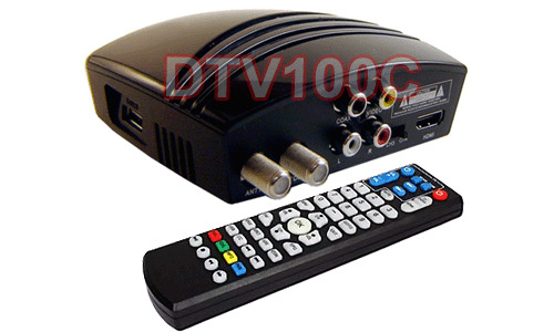 Digital Air ATSC Clear QAM TV Tuner 1080p W/USB Recording Media Player Support