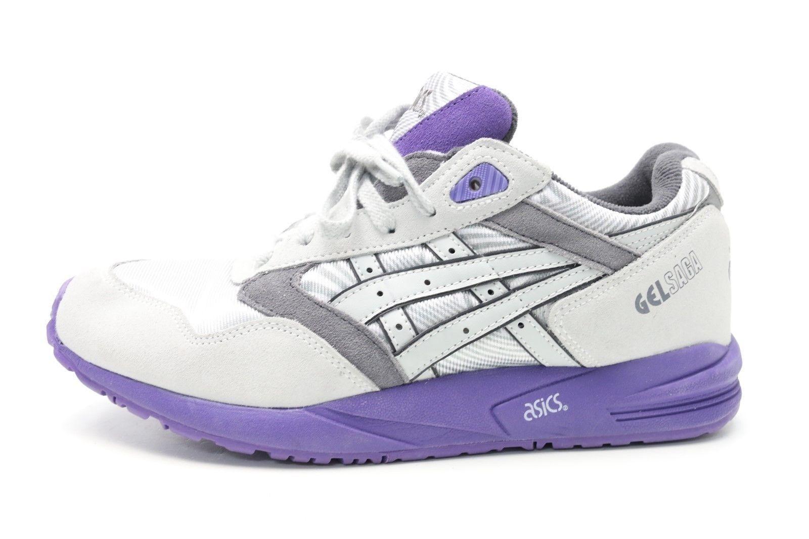 Damenschuhe ASICS gray / purple athletic sneakers sz. 9.5 NEU  150