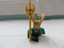 LEGO Superheroes Loki Minifigure 6867 6868 6869  minifig Marvel