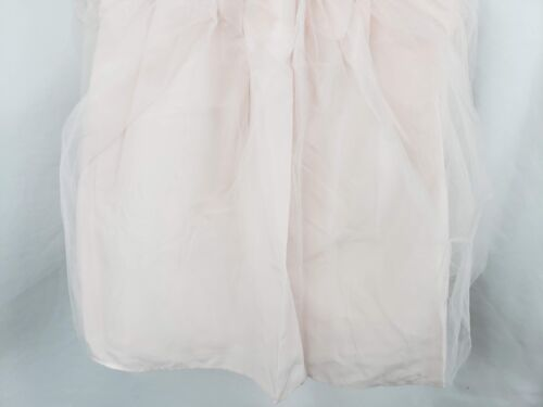 Tevolio Girl/'s Lace Empire Waist Flower Girl Dress Pale Peach Size 3T New