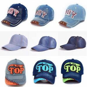 TOP-BOY-Baby-Baseball-Caps-kids-Snapback-Hip-Hop-Cap-Boys-Girls-Summer-Sun-Hats