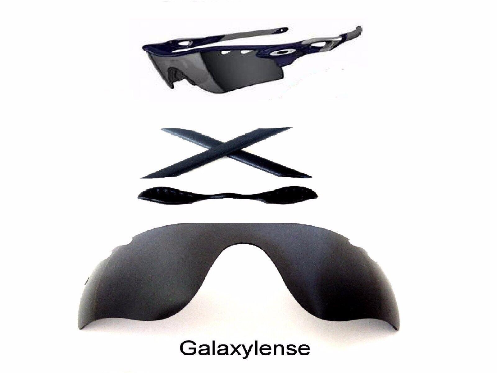 e617c1a729 Galaxy Replacement Black Lenses Rubber Kits for Oakley Radarlock ...