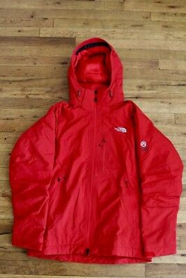 MEN'S THE NORTH FACE SUMMIT SERIES RED SNOWBOARDING/SKI JACKET SIZE M