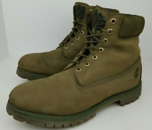 Timberland Men's Size 14 M Olive Green