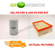 DIESEL SERVICE KIT OIL AIR FILTER FOR FORD ESCORT 55 1.8 69 BHP 1995-01