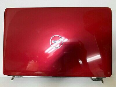 Dell Inspiron 1545 1546 Lcd Screen Back Cover w// hinges 721R8 J454M Design 3