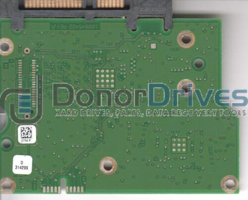 CC4C Seagate SATA 3.5 PCB 2756 F ST3000DM001 9YN166-302