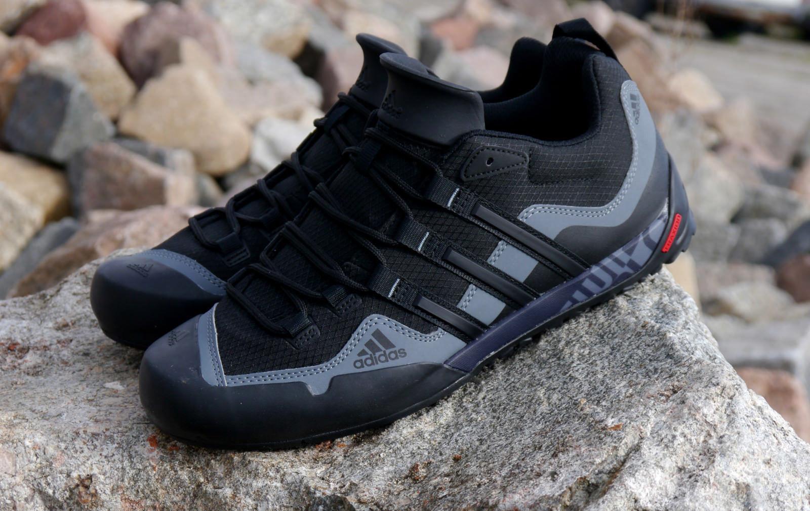 Señores Schue trekking zapatos outdoor adidas Terrex Swift solo