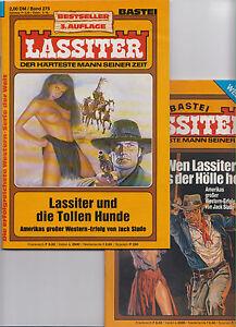 40-verschiedene-LASSITER-Romanhefte-Western-0-1-Top-ungelesen-div-Auflagen