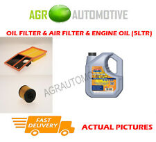 PETROL OIL AIR FILTER KIT + LL 5W30 OIL FOR SEAT IBIZA 1.6 105 BHP 2008-
