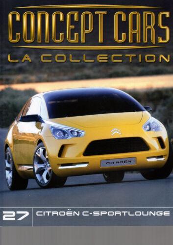 FASCICULE ALTAYA CONCEPT CARS LA COLLECTION livré sans miniature au choix