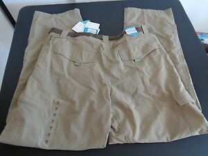 Columbia Mens Silver Ridge Shorts (Tusk)  