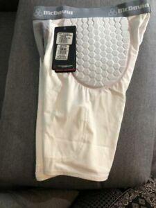 NEW McDavid Pro HexMesh 2-Pocket Football Girdle w//Hexpads Various Sizes 7550T