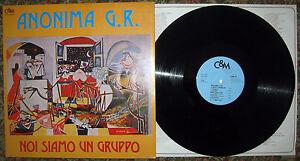 LP-ANONIMA-G-R-Noi-siamo-un-gruppo-Cultura-amp-Musica-78-Italian-folk-prog-EX
