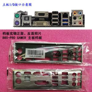 New Origina IO I//O Shield Back Plate BackPlate Blende Bracket for ASUS P9X79