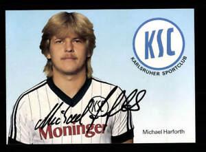 Den Teint Zu Erhalten Michael Harforth Autogrammkarte Karlsruher Sc 1984-85 Original Dass Haare Vergrau Werden Und Helfen A 194013 Verhindern