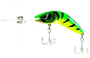 FISHING-LURE-PREDATEK-BOOMERANG-HOT-TIGER-65-UD-12g-CAST-OR-TROLL-DEEP-DIVER