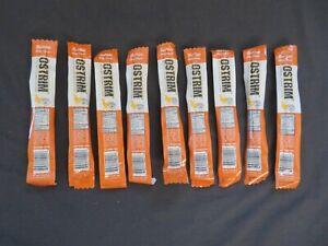 (9) OSTRIM High Protein Chicken Snack Stick Buffalo Wing Flavor 1.5 Oz Each #D