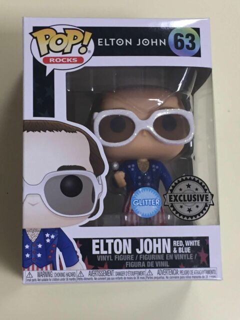 Elton John Glitter Exclusive Pop Vinyl #1