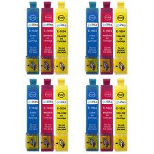 12 C/M/Y Cartuchos de tinta para EPSON WORFORCE wf-2510wf wf-2540wf wf-2660dwf