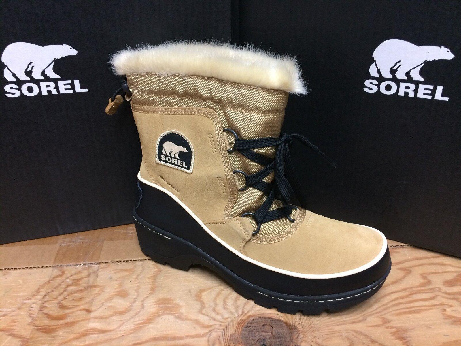 SOREL WOMEN'S TIVOLI Stiefel III  SNOW Stiefel TIVOLI NL2532-373 (1749361-373)CURRY BLACK 99dd37