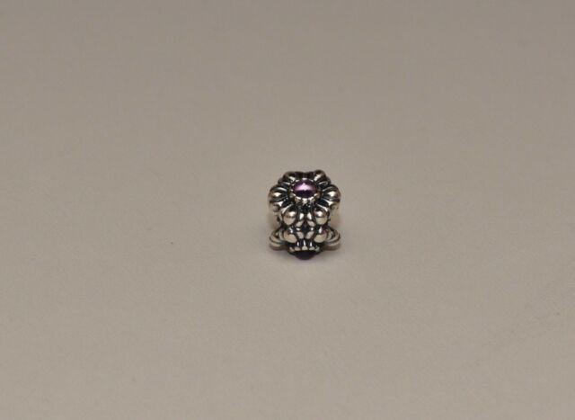293c78aaf ... sale real photos pandora birthday blooms charm february amethyst  790580am 925 bee84 eae07 real fit ...