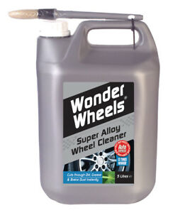 Wonder-Wheels-WWC005-Super-Alloy-Wheel-Cleaner-5L-5-Litres-Dirt-Grime-Remover