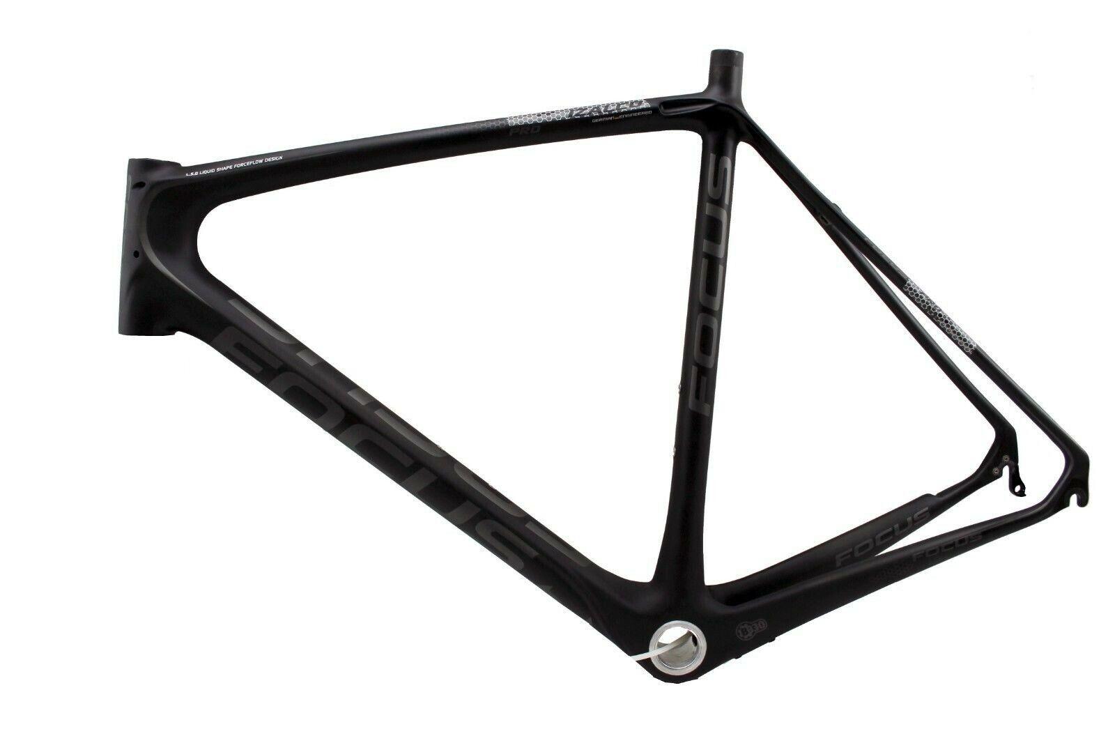 Focus Izalco Di2, Rh 58 cm, Charbon - Cadre , Bb-30, black