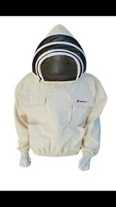 Capable L'apiculture Protection New Bee Veste, Premium 260 Gsm 100% Coton/taille M-afficher Le Titre D'origine