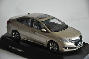 Honda Crider 2017 car model in scale 1:18 Gold | eBay