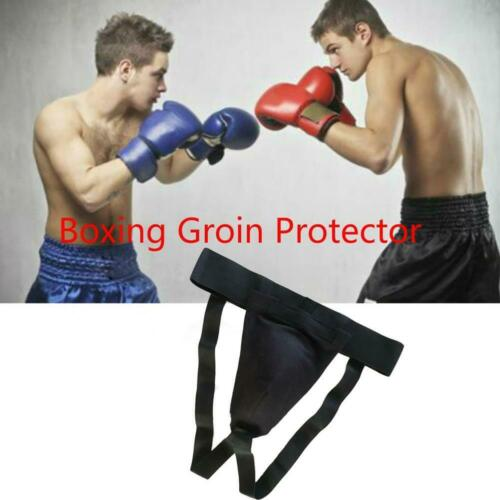 Groin Guard With Gel Cup Boxing MMA Protector Box Martial Arts  Straps